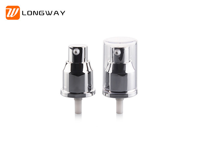 20MM PP Uv  Material Cosmetic Treatment Pumps For Plastic Lotion Bottles