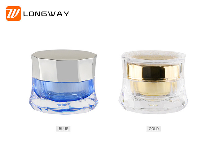 50g Acrylic Cream Jar Skirt Shaped , Luxurious Empty Skin Care Containers